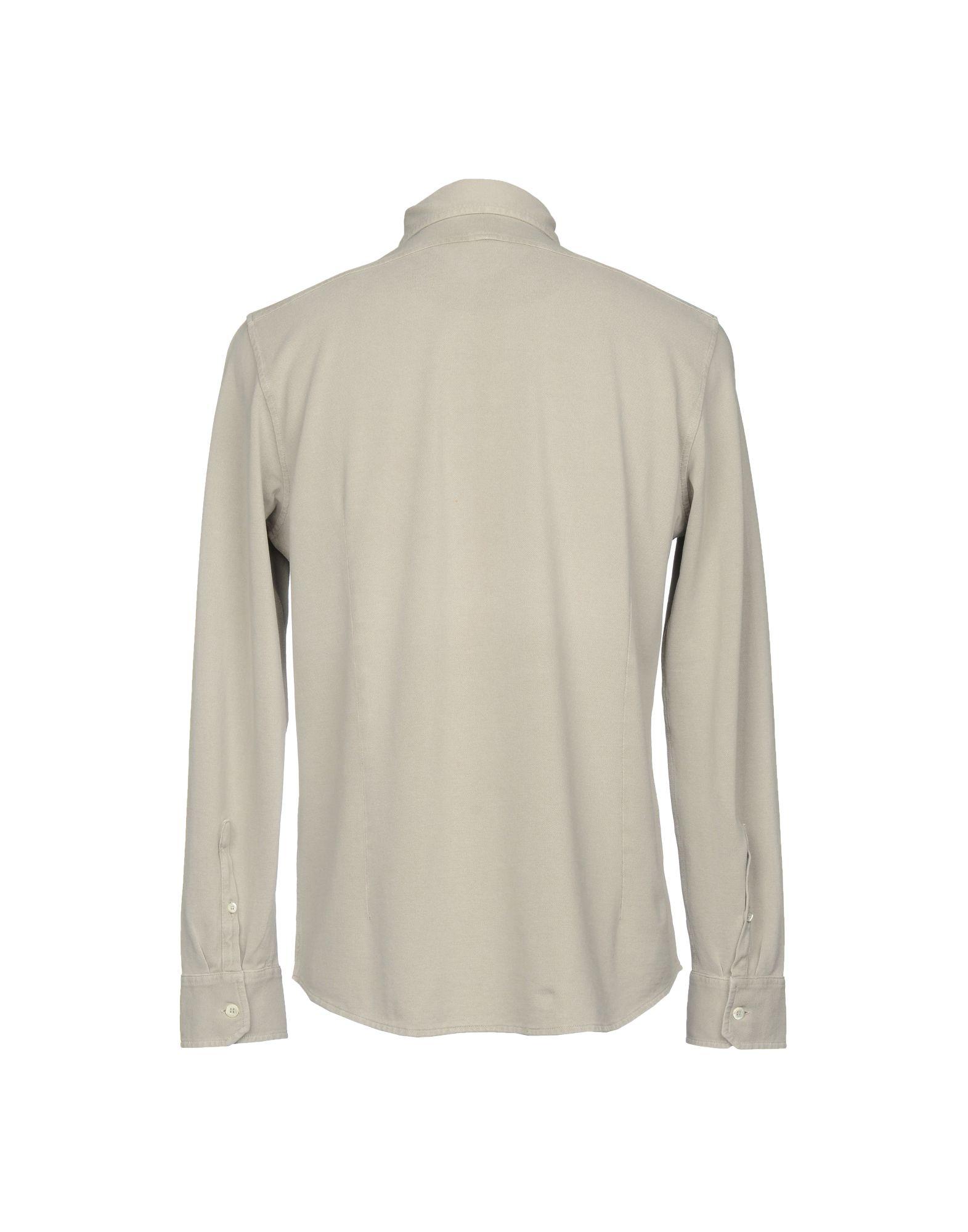 Camicia Tinta Unita Unita Unita Drumohr Uomo - 38706101UO c631d3