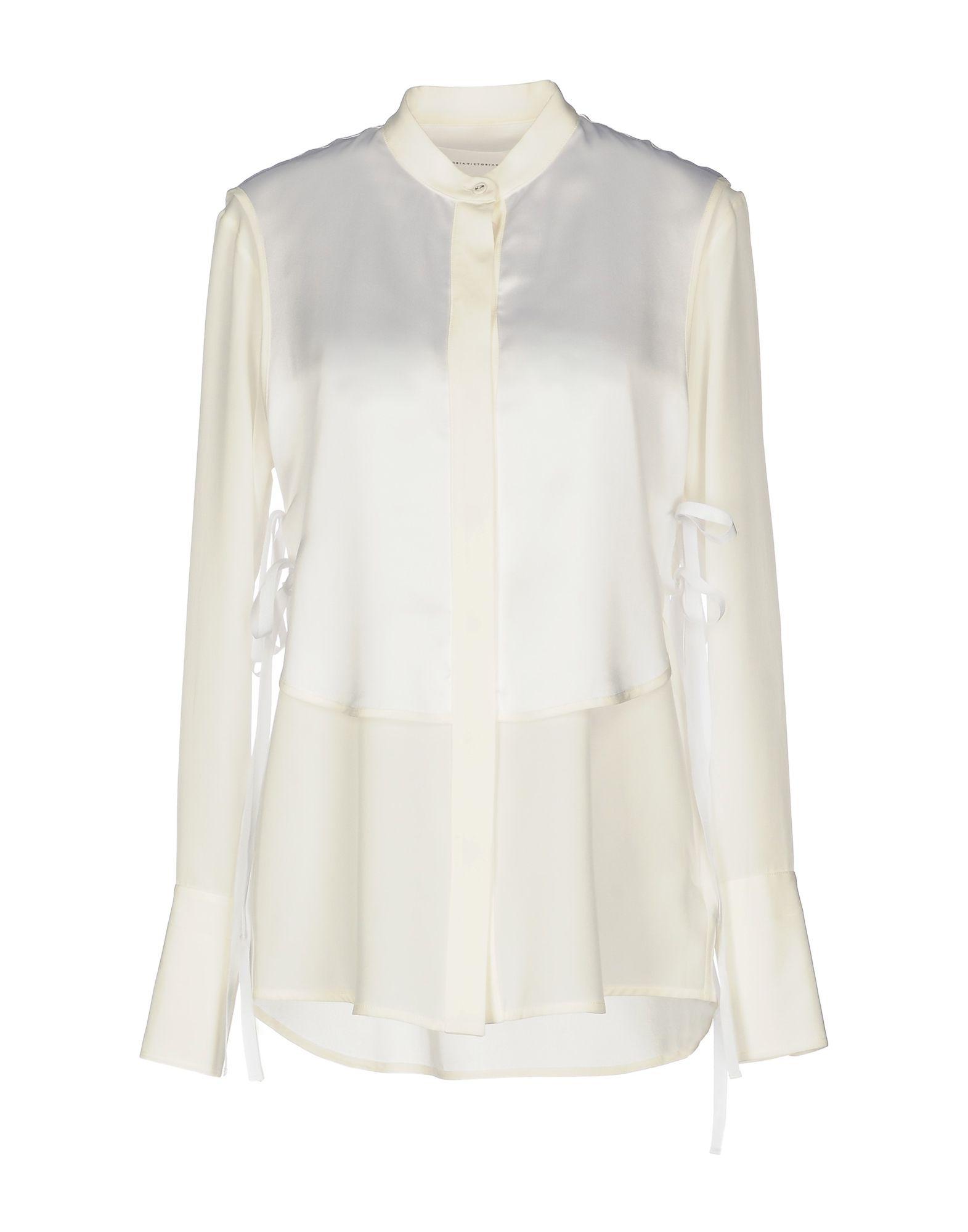 Camicie E Bluse In Seta Victoria, Victoria Beckham Donna - Acquista online su
