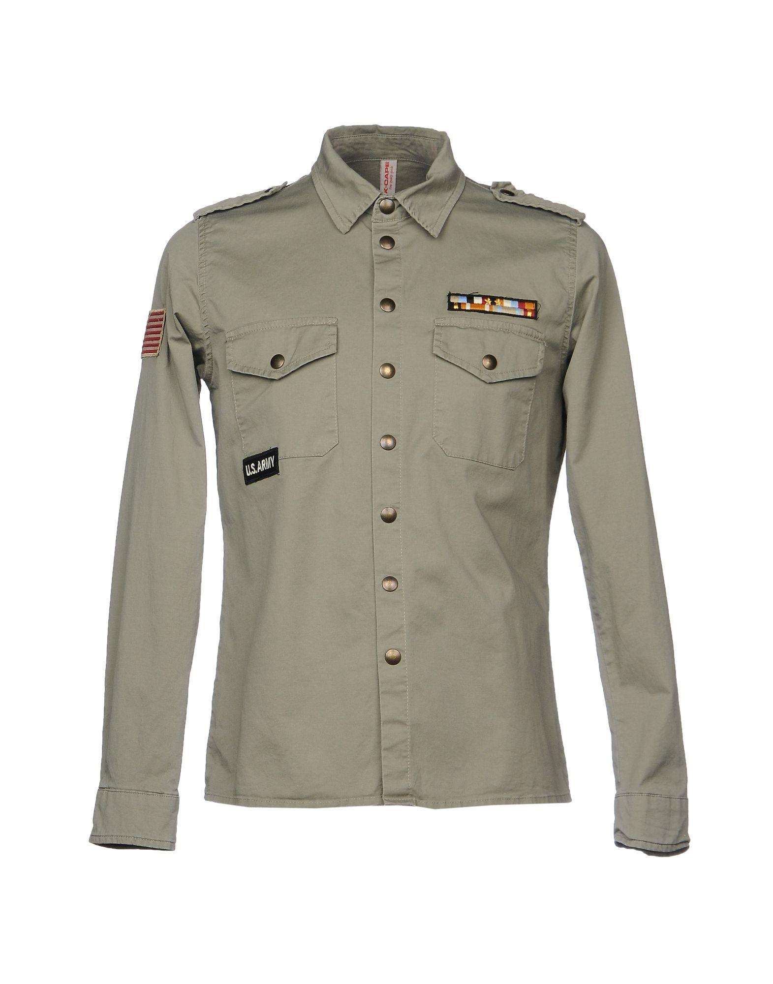 Camicia Tinta Unita X-Cape Uomo - Acquista online su