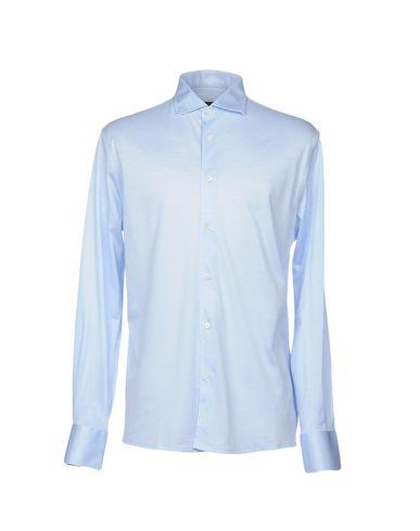 ALESSANDRO DELLACQUA Einfarbiges Hemd