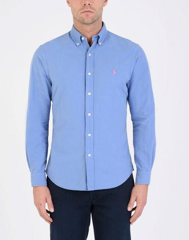 RALPH LAUREN Slim Fit Cotton Oxford Shirt Camisa lisa