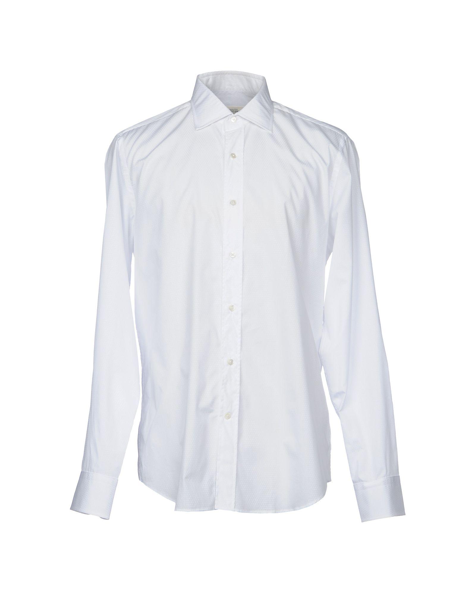 Camicia Tinta Unita Mauro Grifoni Uomo - Acquista online su