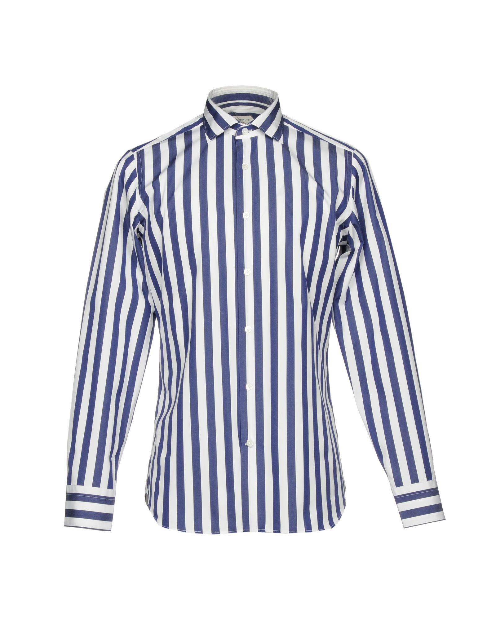 Camicia A Righe Guglielminotti Uomo - Acquista online su