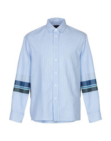 PLAC Striped Shirt in Sky Blue