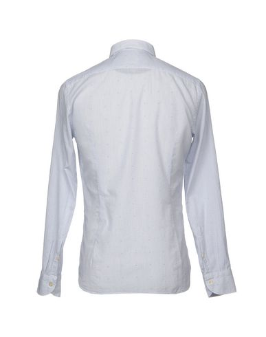 Tintoria Mattei 954 Stripete Skjorter klassisk billig online RARRjF