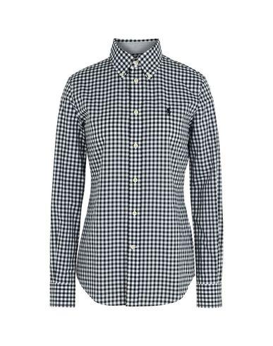 Chemise À Carreaux Polo Ralph Lauren Kendal Poplin Shirt - Femme ... 43e92314429e
