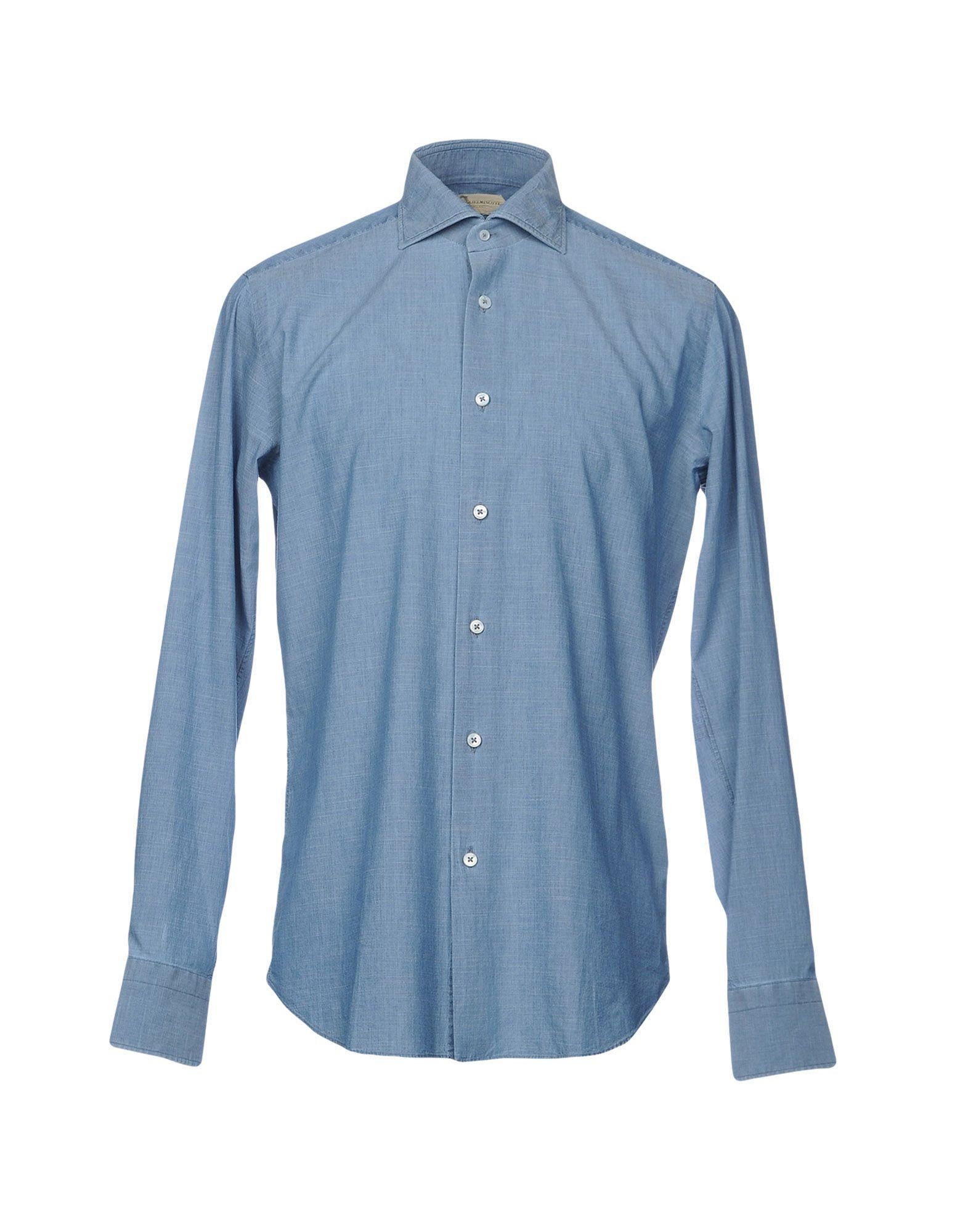 Camicia Tinta Unita Guglielminotti Uomo - Acquista online su