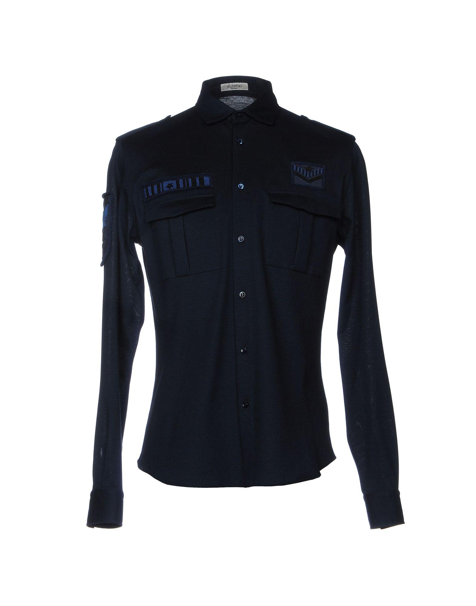 Camicia Tinta Unita Valentino Uomo - Acquista online su
