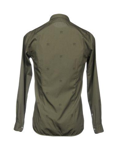Officina Trykt Skjorte 36 billig salg virkelig stor rabatt rabatt footaction gratis frakt gratis frakt bla idAef5F38v