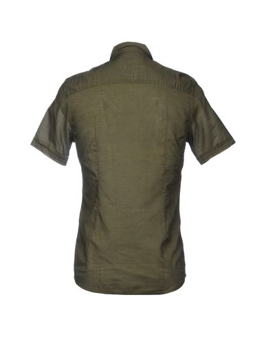 DANIELE ALESSANDRINI HOMME Einfarbiges Hemd
