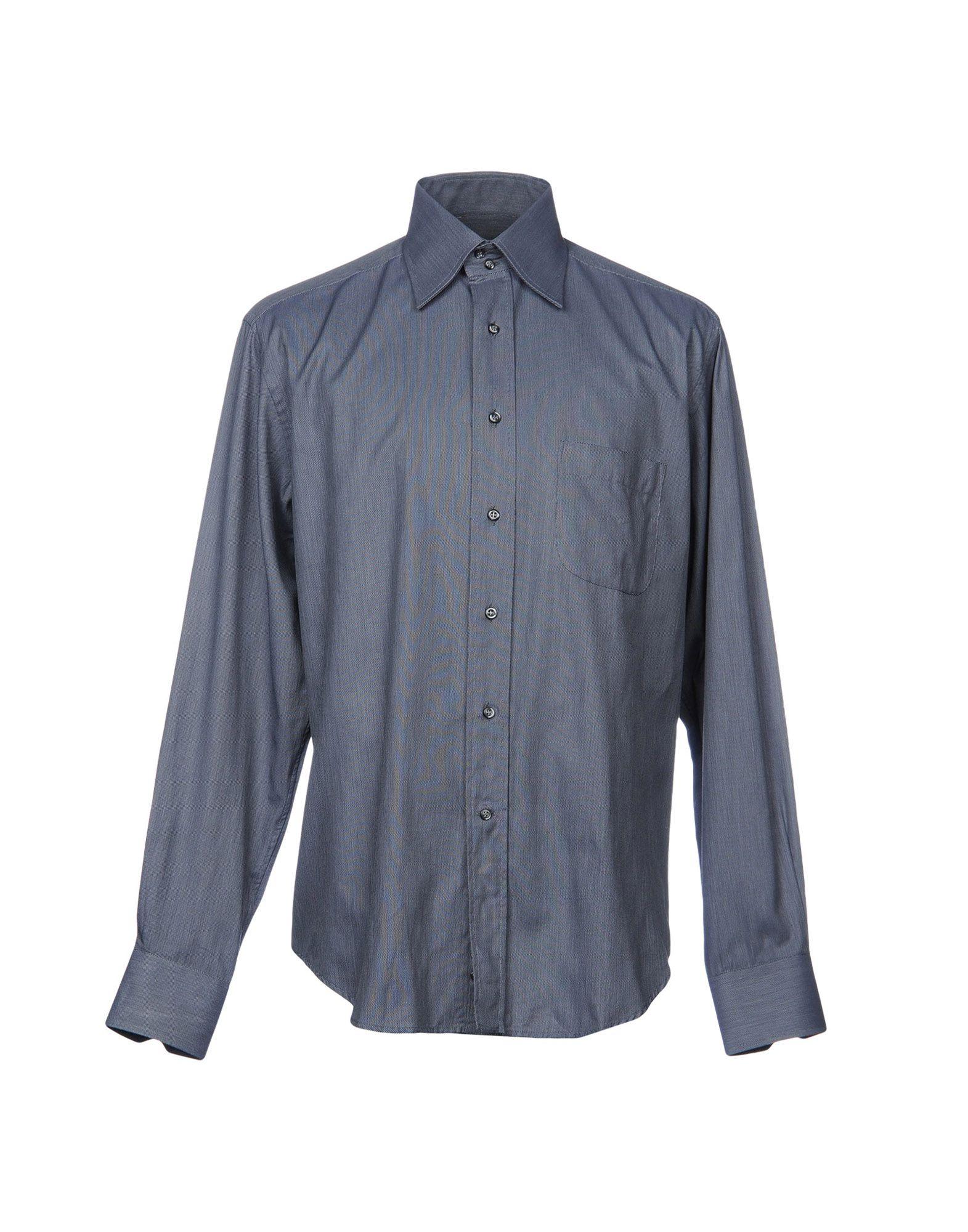 Camicia Tinta Unita Borsautta Borsautta Unita Uomo - 38708803HQ fe4e4e