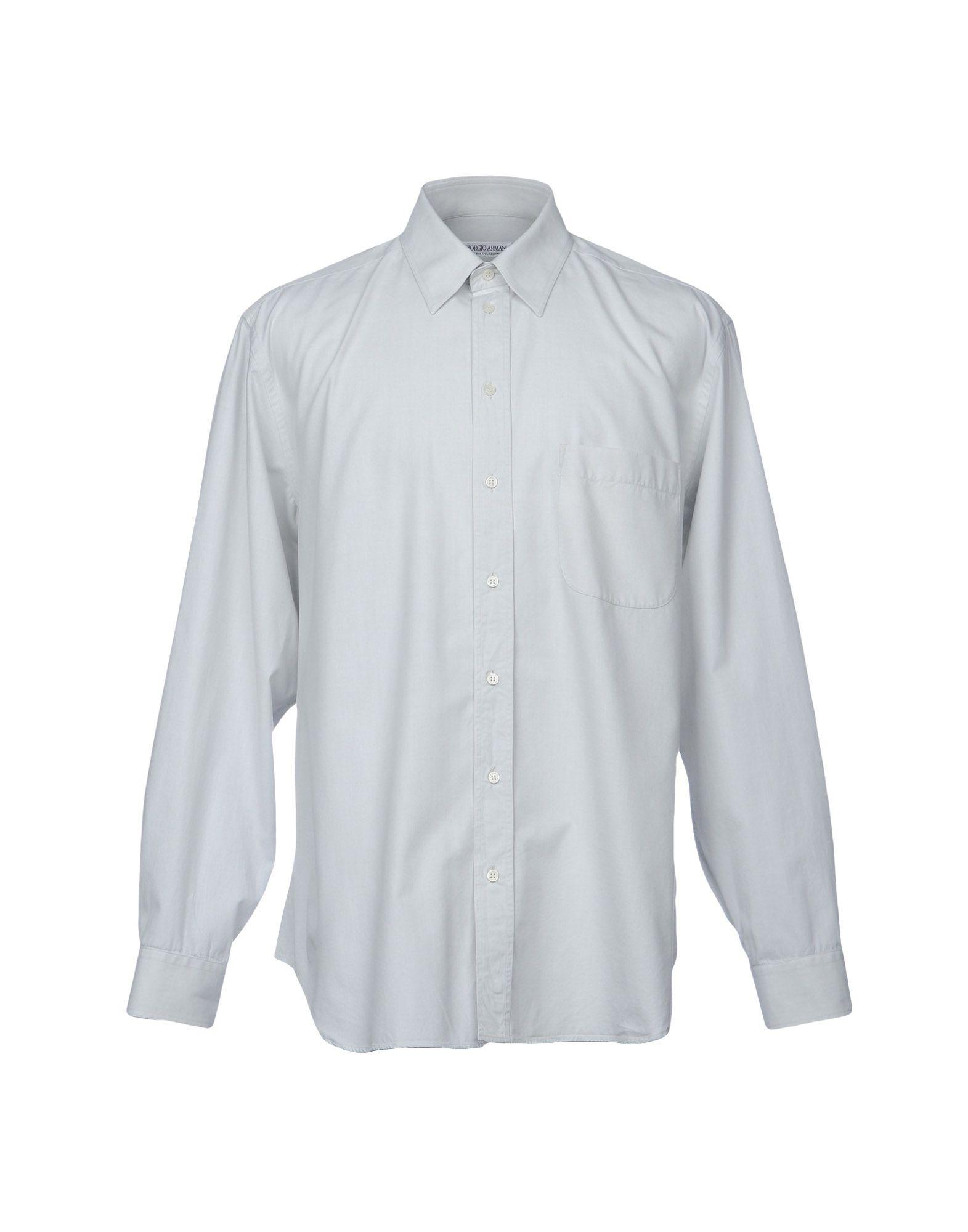 Camicia Tinta Unita Giorgio Armani Le Collezioni Donna - Acquista online su