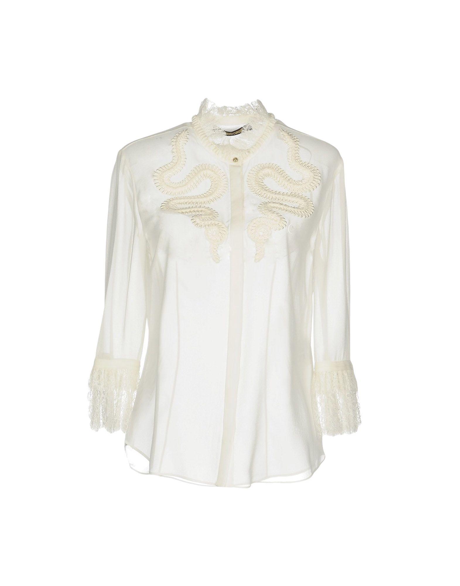 Camicie E Bluse In Pizzo Roberto Cavalli Donna - Acquista online su GtsF2bT5P