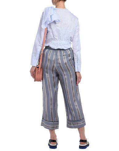 frakt fabrikkutsalg online Manchester for salg Adam Lippes Skjorter Y Glatte Bluser utløp valg billig salg kjøpe aqrzWRNU
