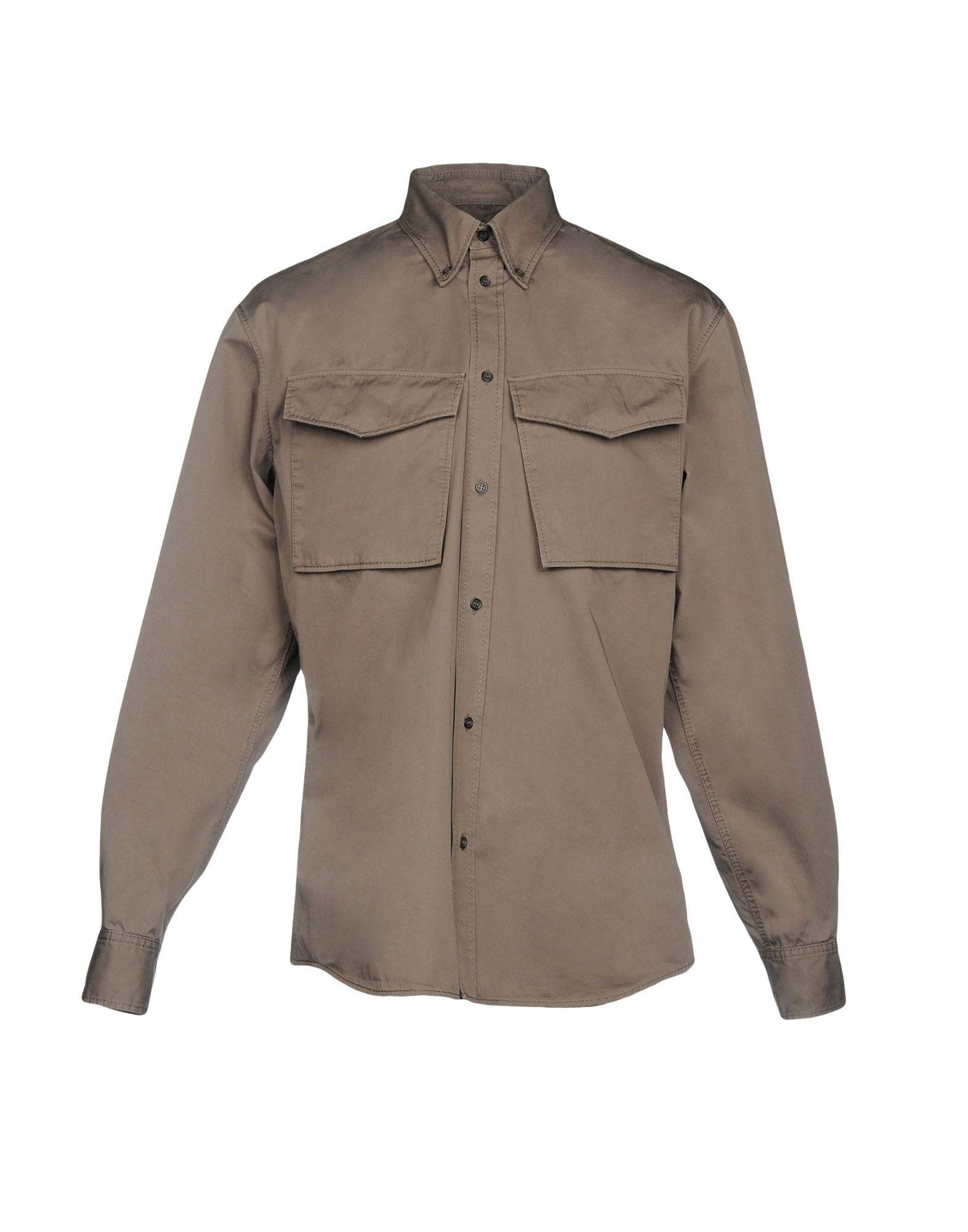 Camicia Tinta Unita Dsquared2 Uomo - Acquista online su