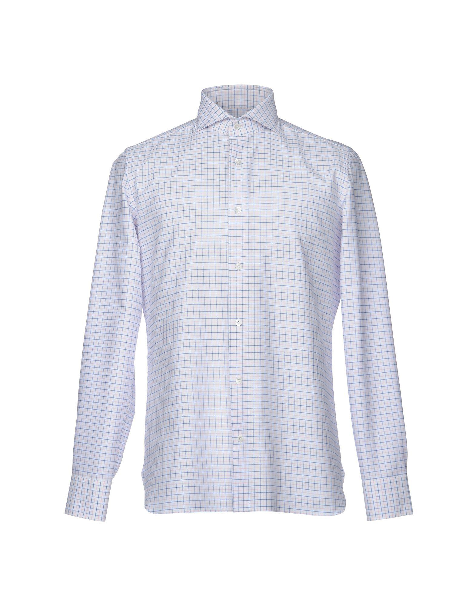 Camicia A Quadri Luigi Borrelli Napoli Uomo - Acquista online su
