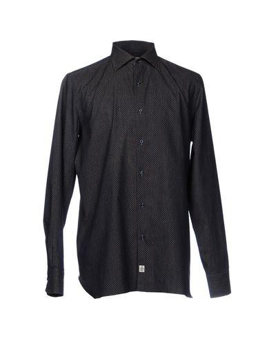 LUIGI BORRELLI NAPOLI Hemd mit Muster 2018 zu verkaufen Abverkauf Verkauf Sast Preiswert Echt Authentisch Beste Preise günstig online CxEfp