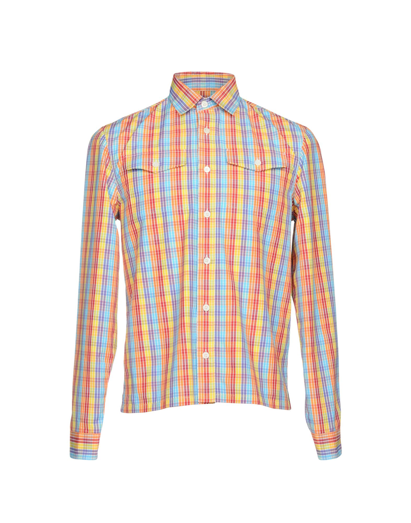 Camicia A Quadri Prada Uomo - Acquista online su