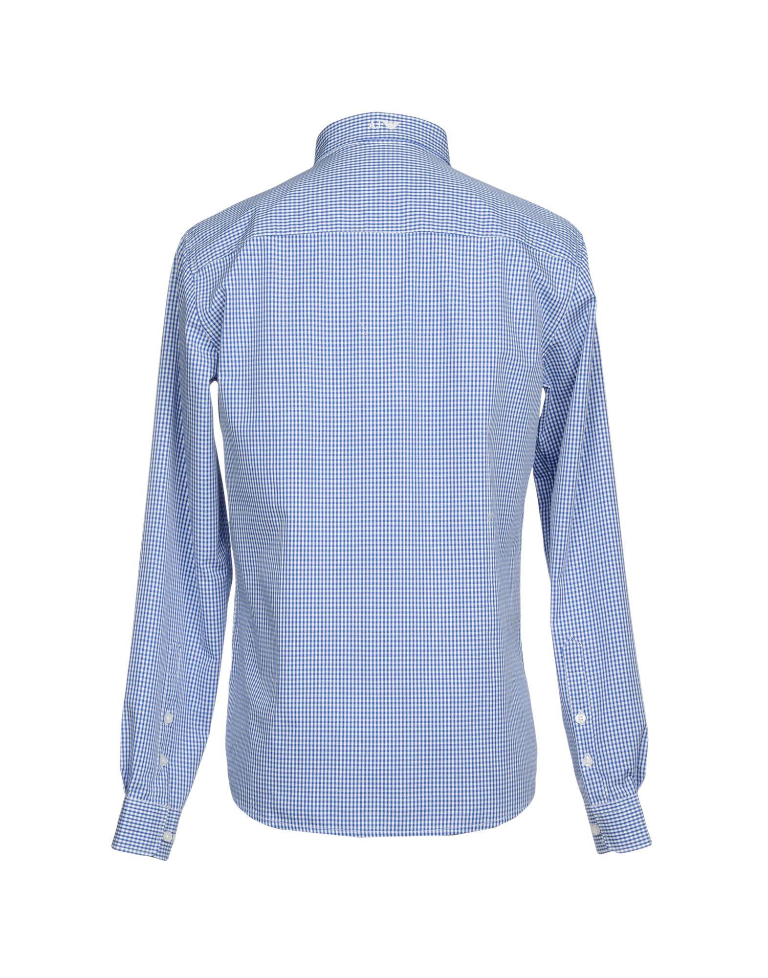 Camicia A Quadri Armani Jeans Uomo - 38710547RR 38710547RR - 7be31b