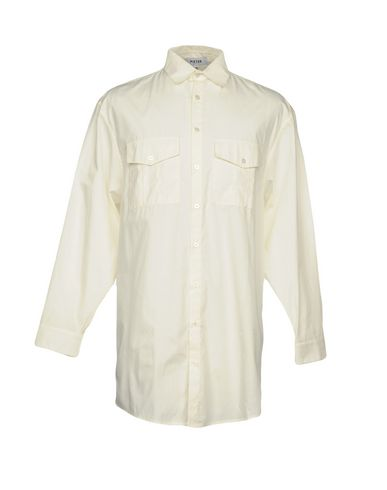 PIETER Solid Color Shirt in Ivory