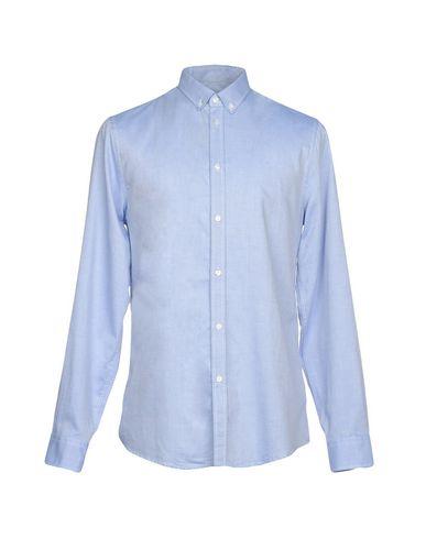 Trussardi Skjorte Trykt Denim fra Kina online salg Manchester 3iRRSV