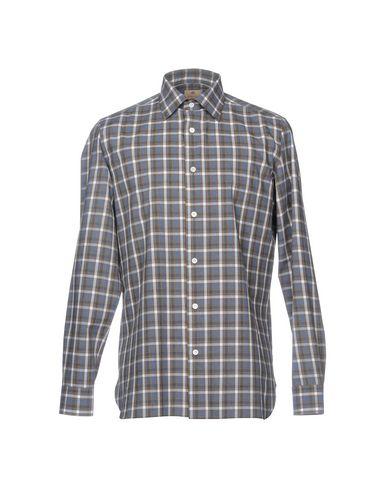 LUIGI BORRELLI NAPOLI Kariertes Hemd Räumungskosten Zu verkaufen BaHOJ4