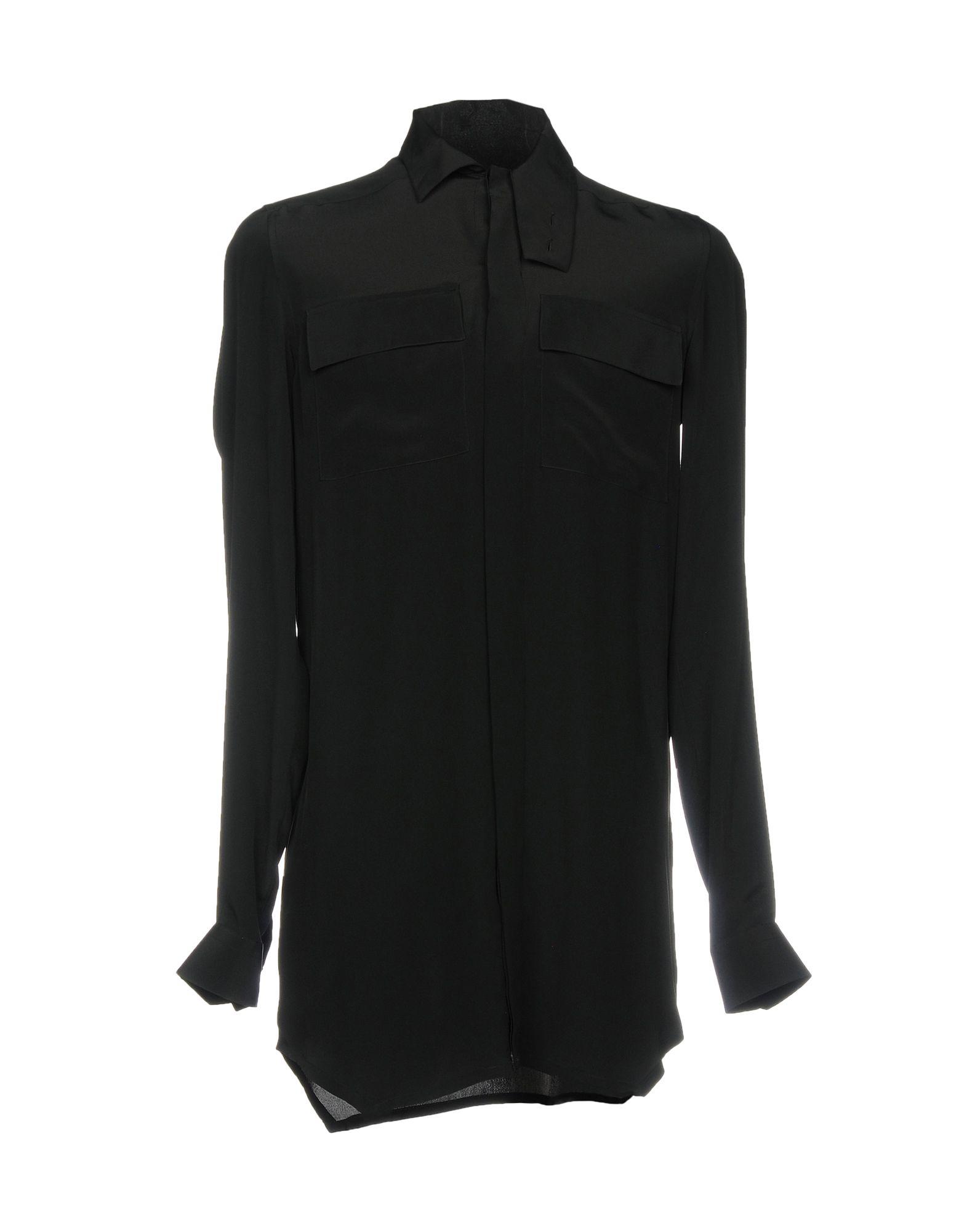 Camicia Tinta Unita Rick Owens Uomo - Acquista online su