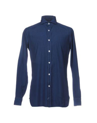 Luigi Borrelli Napoli Camisa Lisa rabatt 2014 nyeste billig salg profesjonell populær og billig RVh7l609uQ