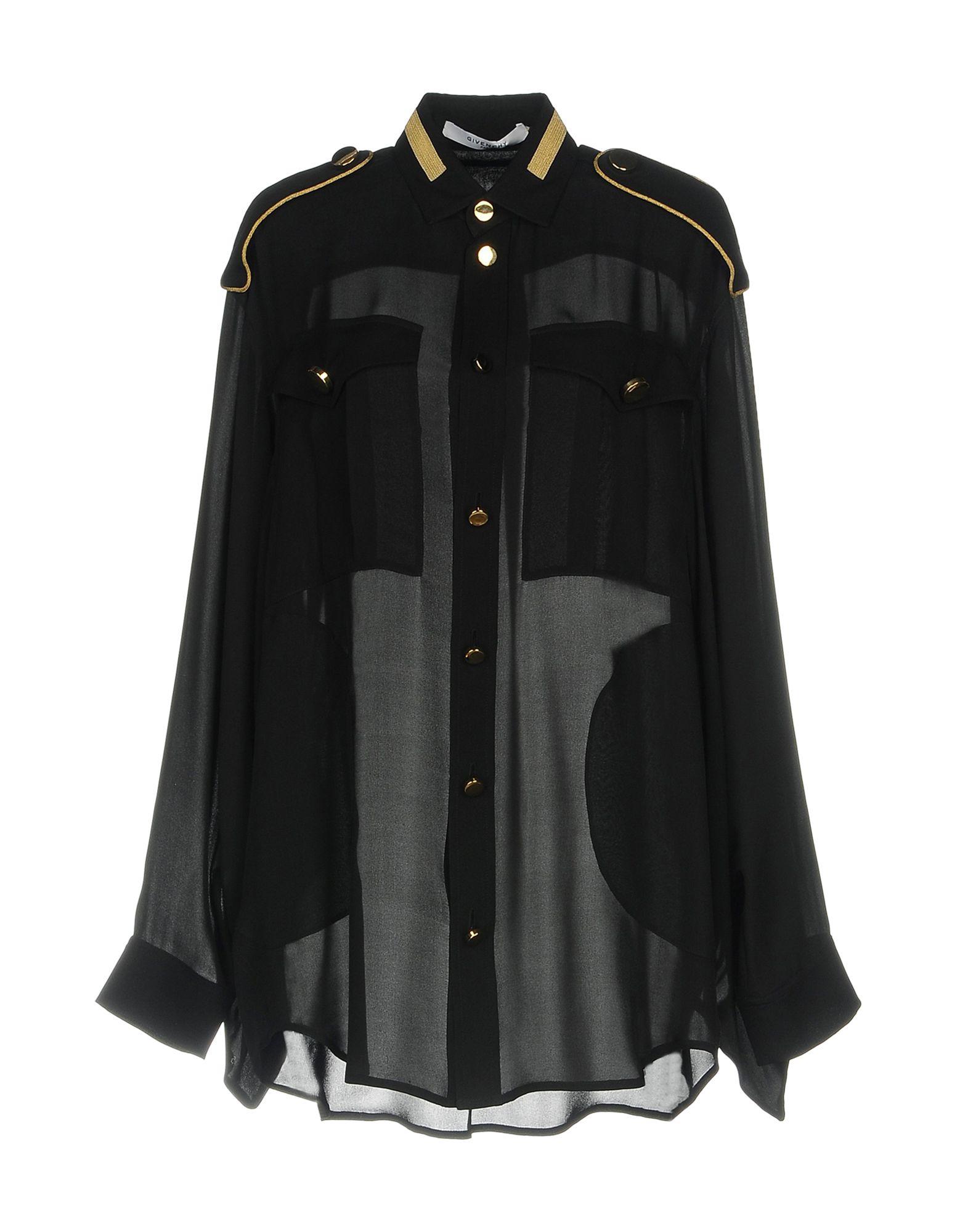 Camicie E Bluse In Seta Givenchy Donna - Acquista online su AlGu0vT061