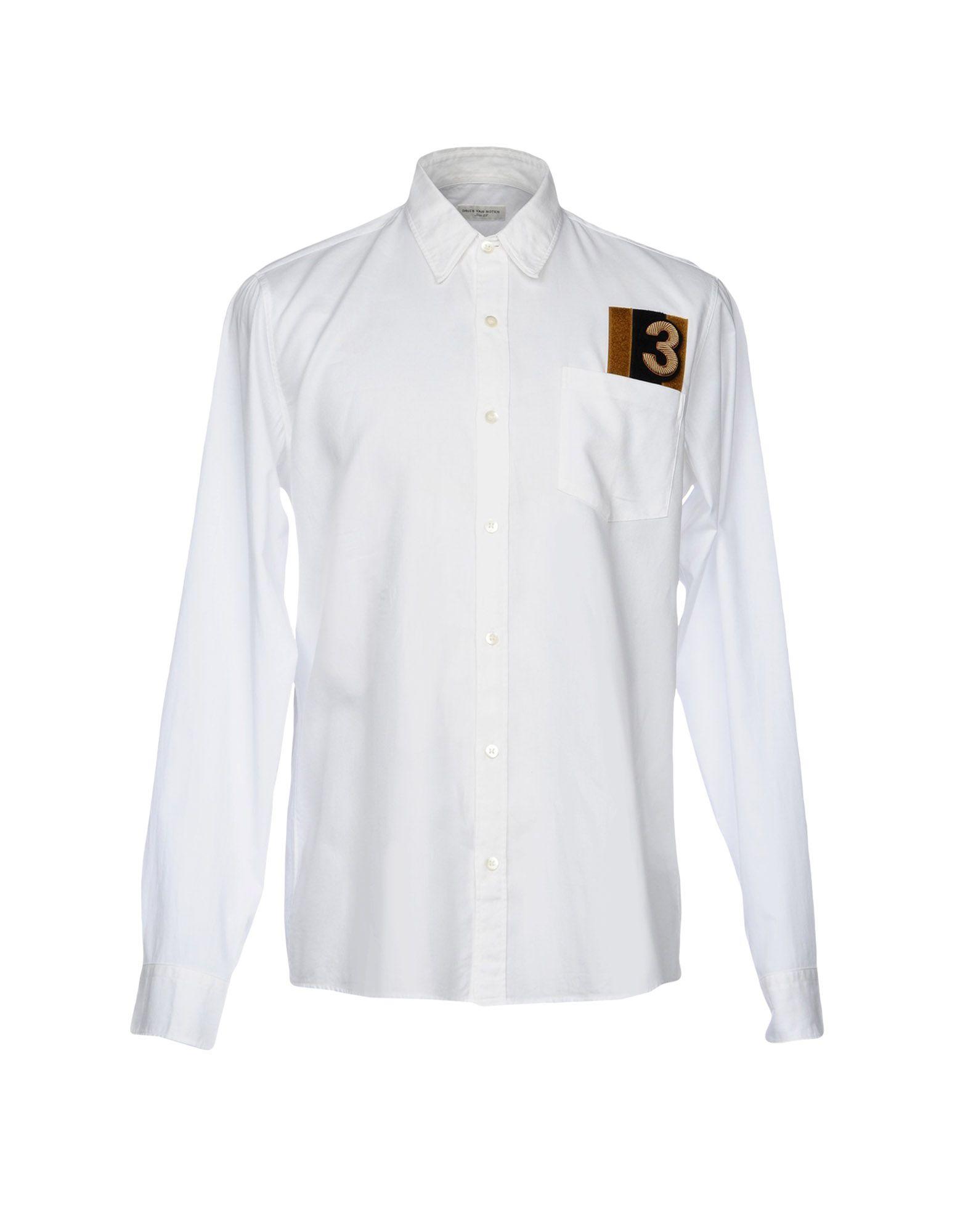 Camicia Tinta Unita Dries Van Noten Uomo - Acquista online su