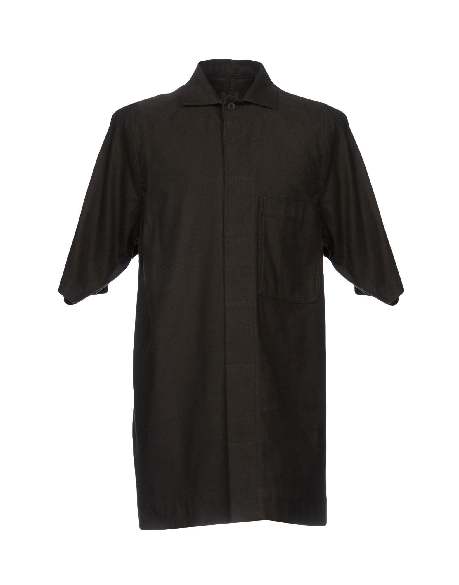 Camicia Tinta Unita Drkshdw By Rick Owens Uomo - Acquista online su