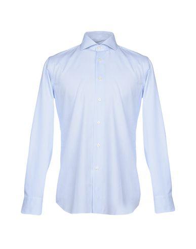 gratis frakt clearance utløps bilder Zanetti Stripete Skjorter 2014 unisex l3mWHvYj2