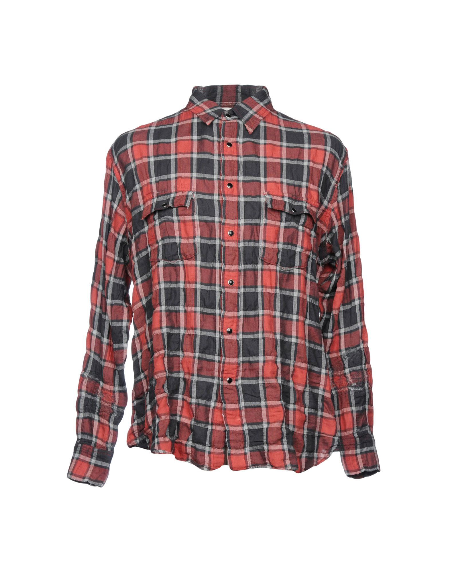 Camicia A Quadri Saint Laurent Uomo - Acquista online su