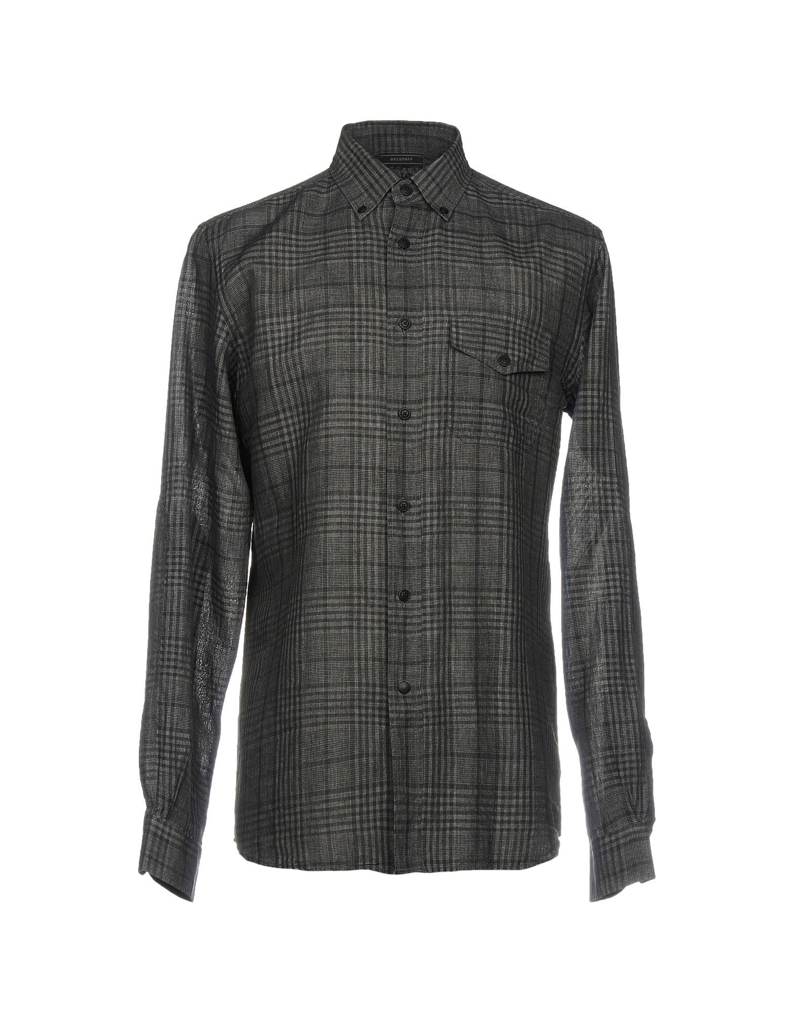 Camicia A Quadri Belstaff Uomo - Acquista online su
