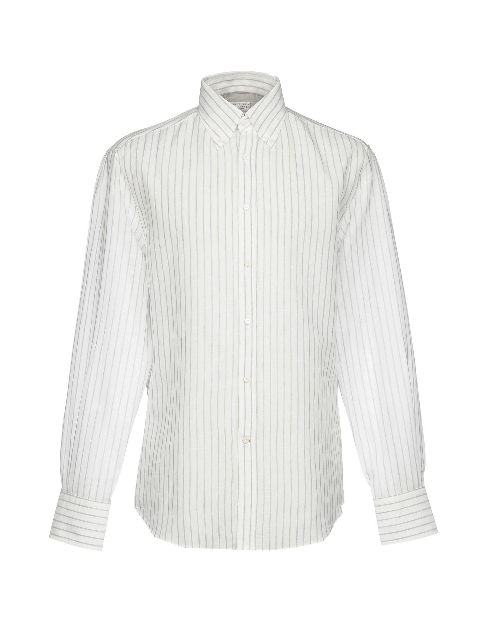 Camicia A Righe Brunello Cucinelli Uomo - Acquista online su
