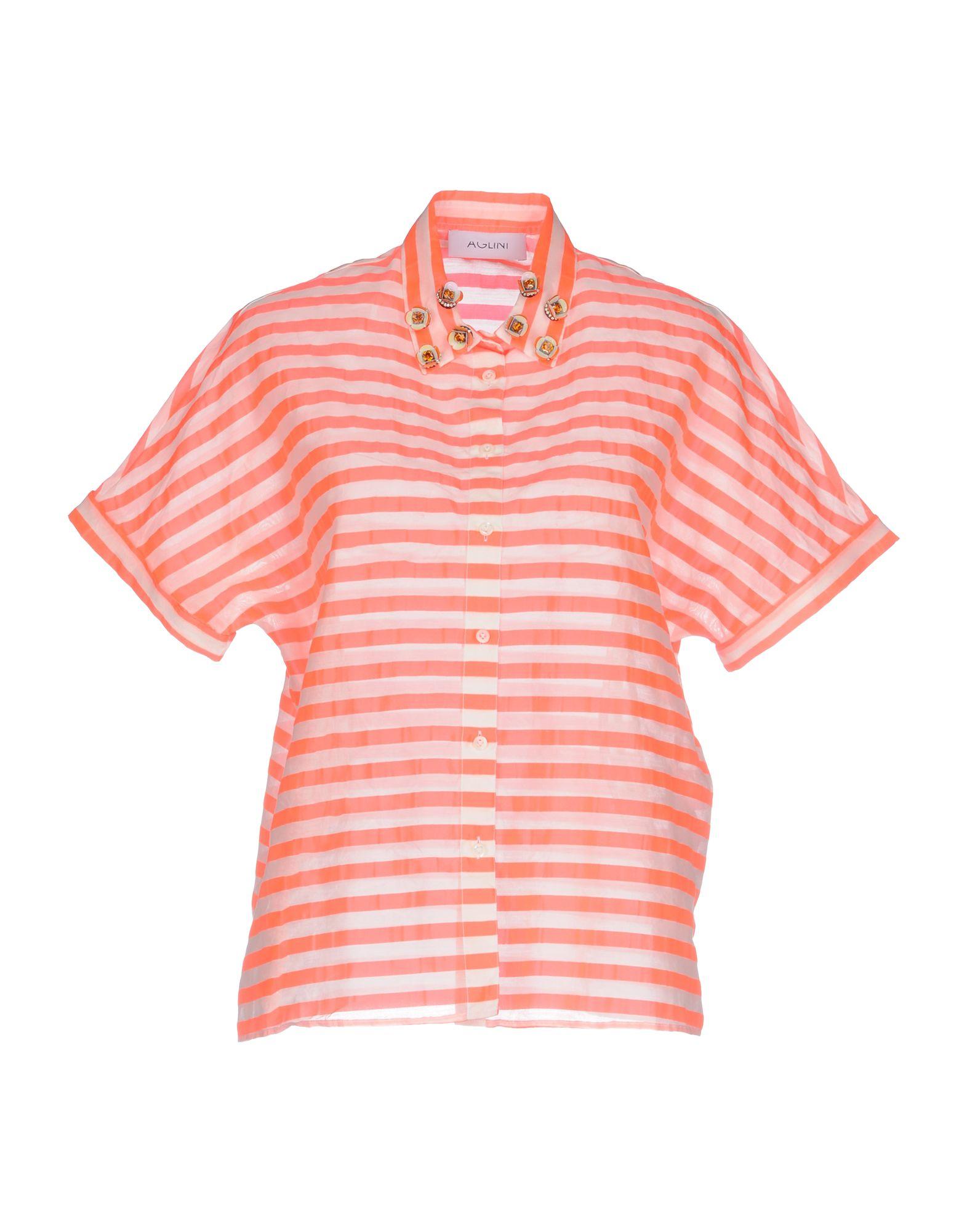 Camicia A Righe Righe Aglini donna - 38712828TO