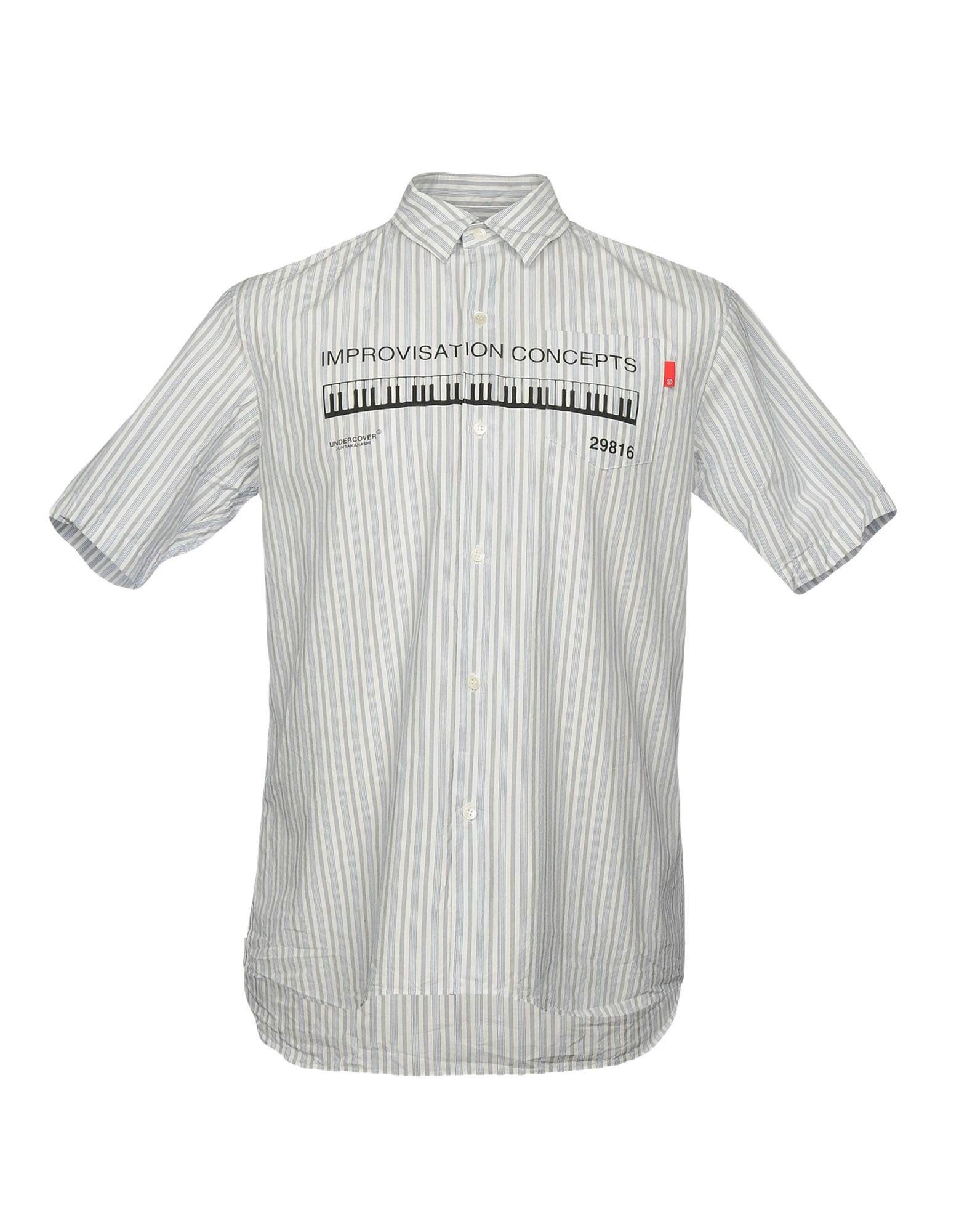 Camicia A Righe Undercover Uomo - Acquista online su