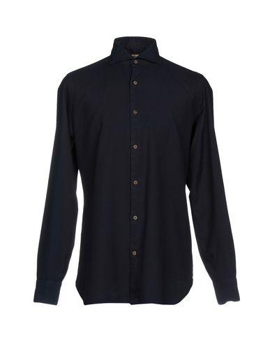 LUIGI BORRELLI NAPOLI Einfarbiges Hemd Verkauf Bilder Niedriger Preis Websites zum Verkauf p93X7me