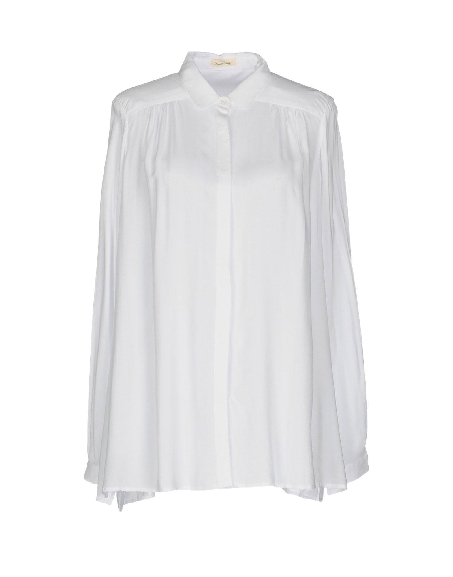 Camicie E bluse Tinta Unita American American American  intage donna - 38713630LL e28