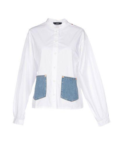 DIESEL Camisas y blusas lisas