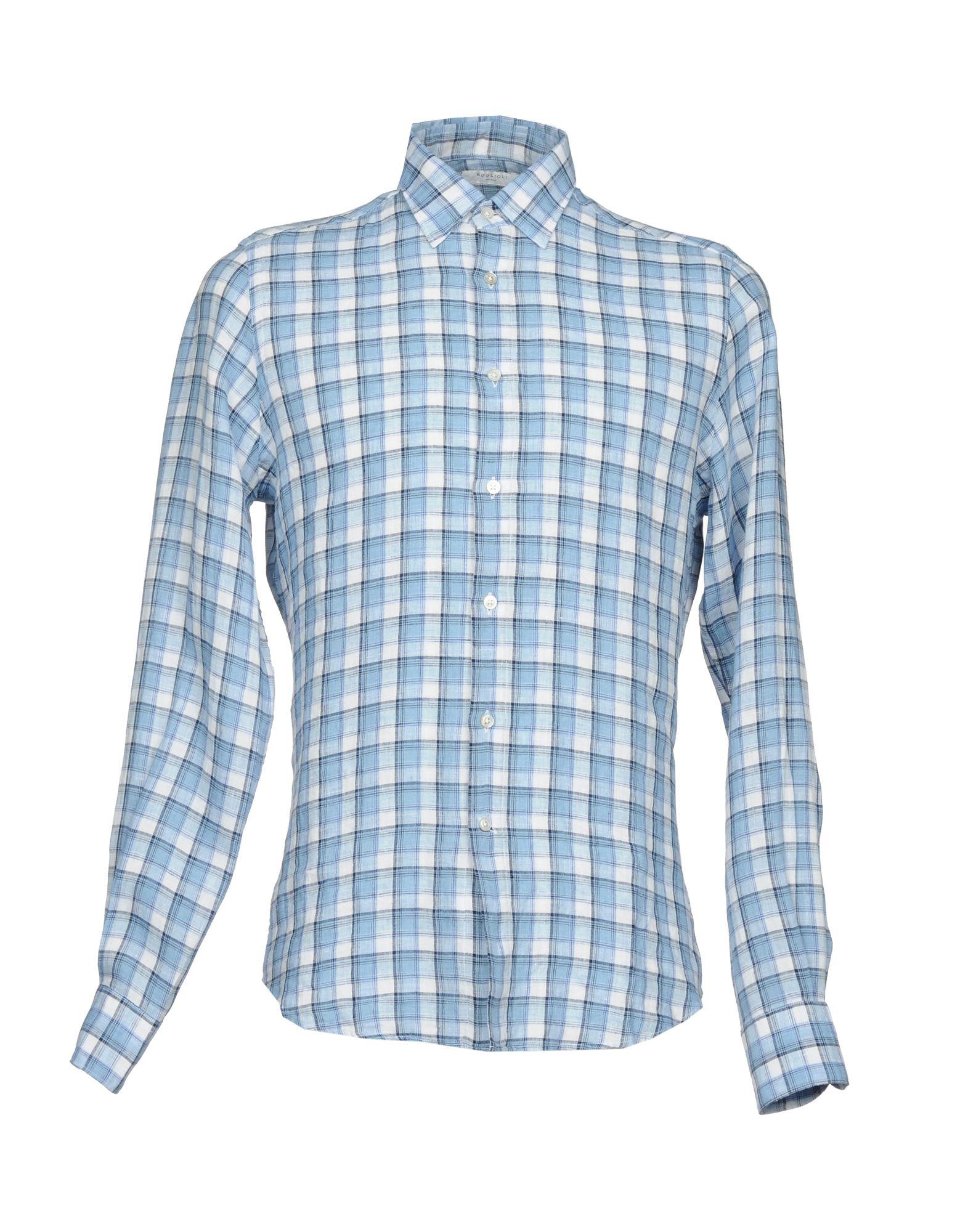 Camicia A Quadri Boglioli Uomo - Acquista online su