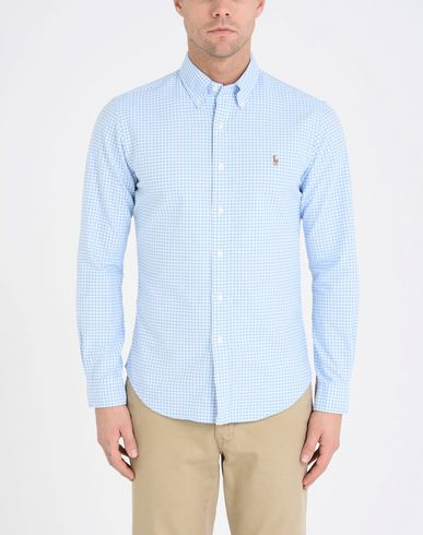 RALPH LAUREN Slim Fit Oxford Shirt Camisa de cuadros