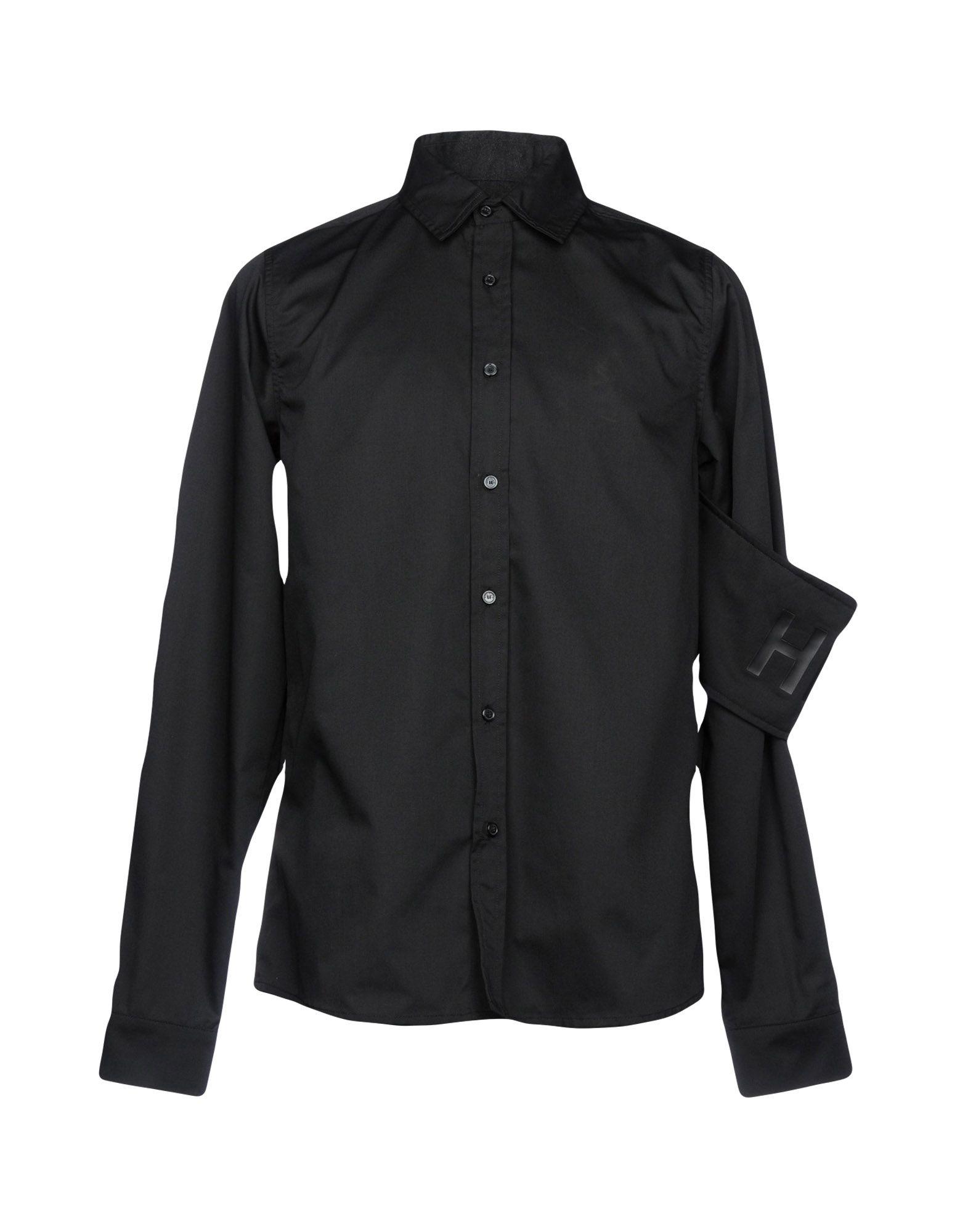 Camicia Tinta Unita Hba  Hood By Air Uomo - Acquista online su