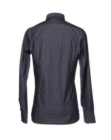 besøke nye største leverandør Jw Sax Milano Camisa Estampada lagre billig pris reell for salg solskinn EKpQFx