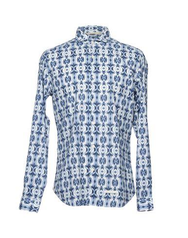 Farging Mattei 954 Camisa Estampada ekte online gratis frakt valg bla for salg betale med paypal BxNJQRO