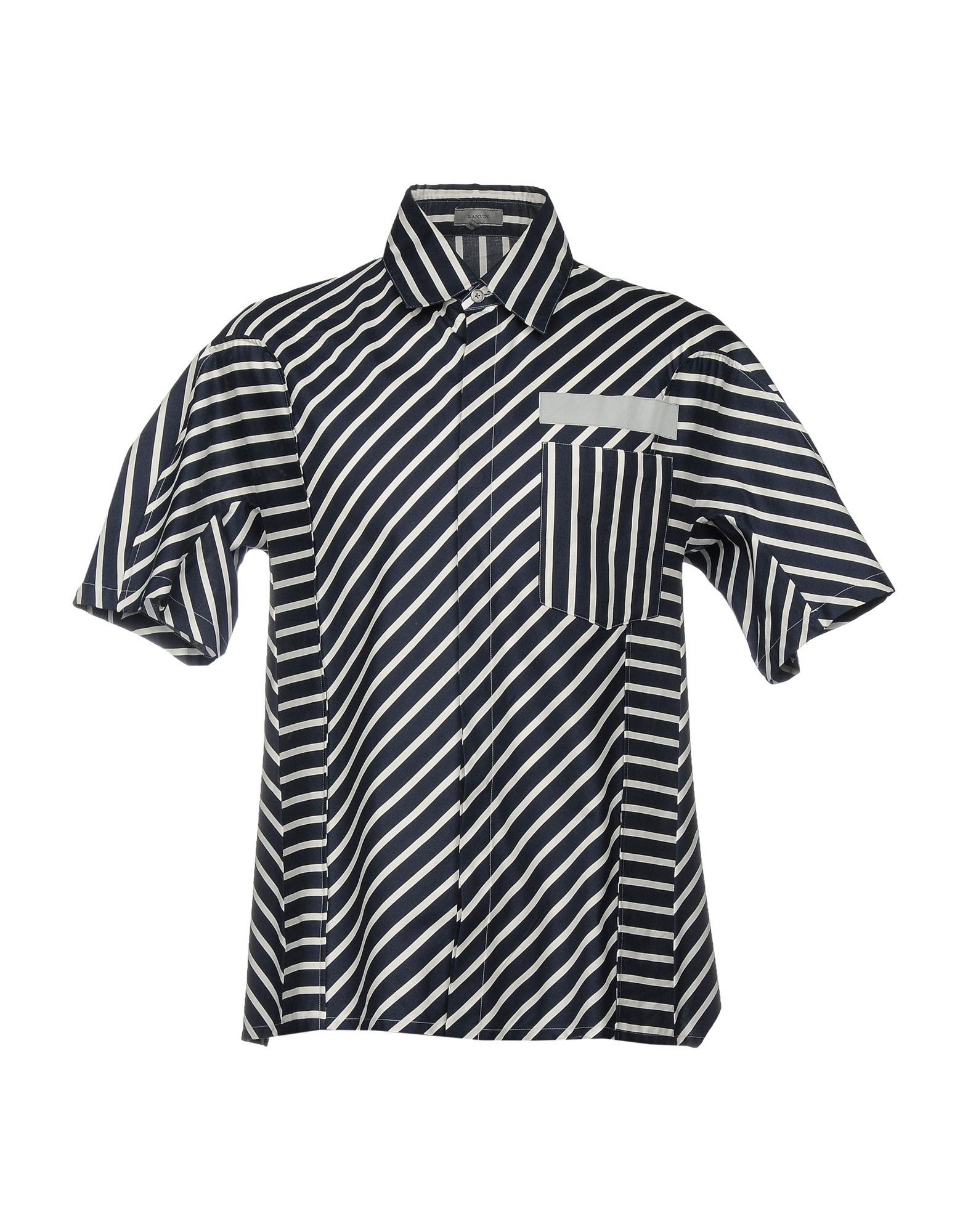 Camicia A Righe Lanvin Uomo - Acquista online su