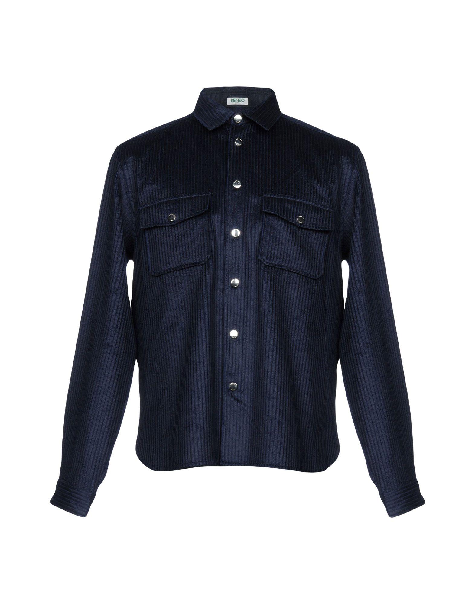 Camicia Tinta Unita Kenzo Uomo - Acquista online su