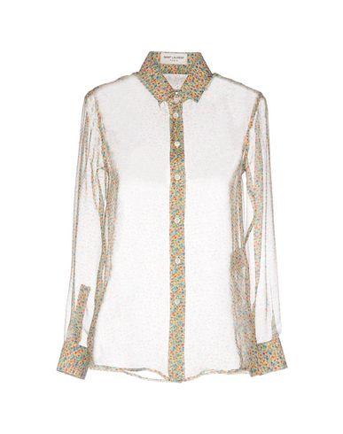 SAINT LAURENT Camisas y blusas de flores