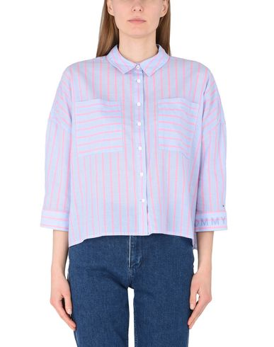 TOMMY JEANS TJW TOMMY SHIRT L/S 20 Camisas de rayas