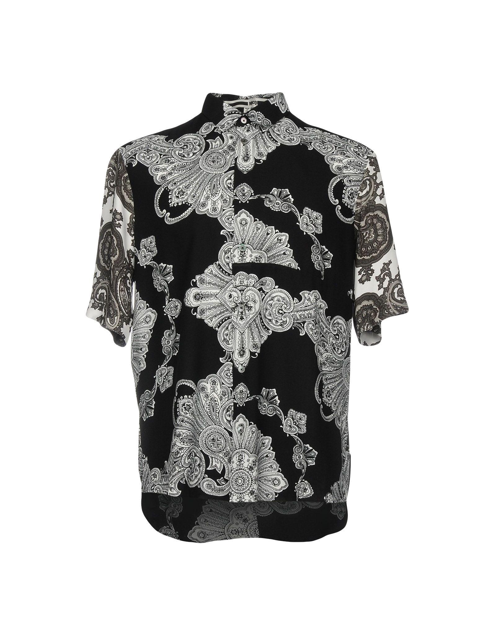 Camicia Fantasia Mcq Alexander Mcqueen Uomo - Acquista online su